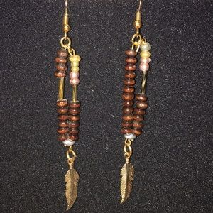 Motherskiss Jewelry - WOOD & GOLD